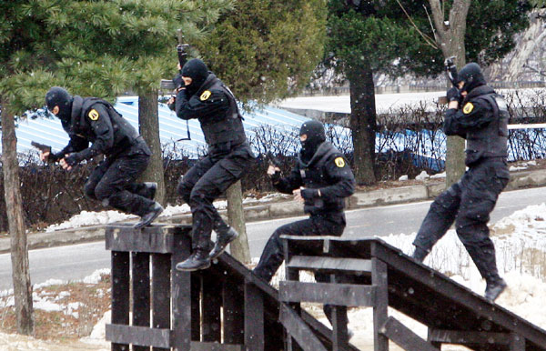 写真】対テロ訓練 | Joongang Ilbo | 中央日報