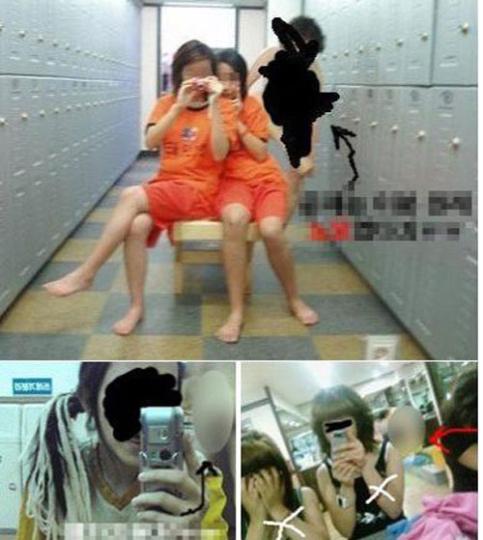 韓国 中学生 裸 ノーモザイクで、中学生の裸まで……韓国の人気プール更衣室で ...
