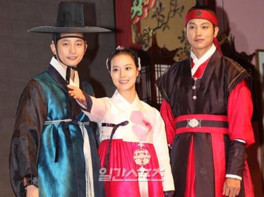KBS(韓国放送公社)第2テレビのドラマ「姫の男」が登場人物。