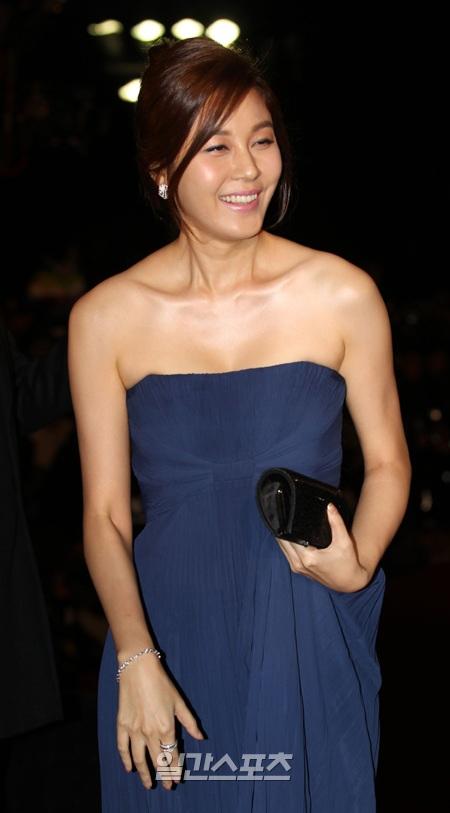 女優のキム・ハヌル。