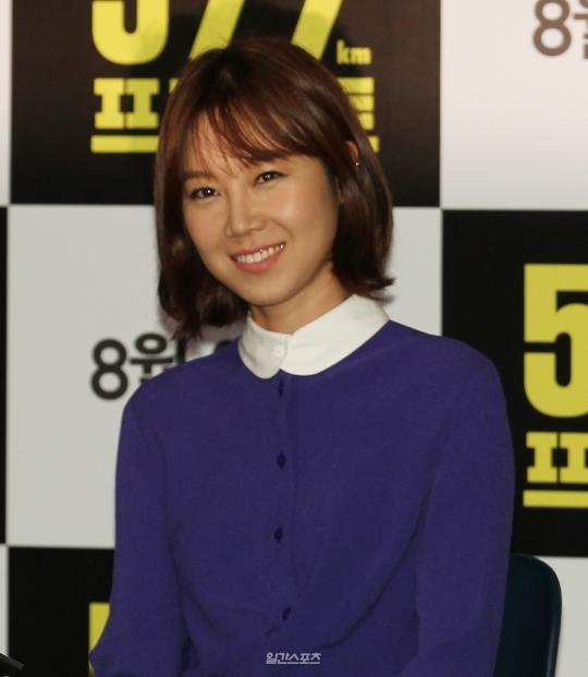 女優のコン・ヒョジン。