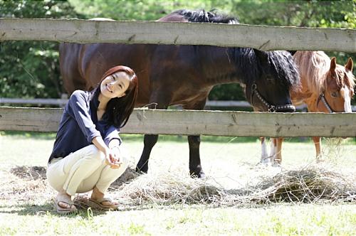 女優ムン・チェウォン。