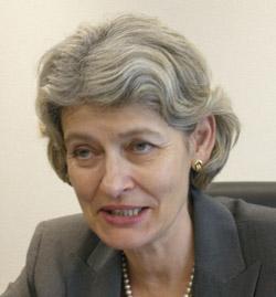 イリナ・ボコヴァ(62)ユネスコ事務局長。