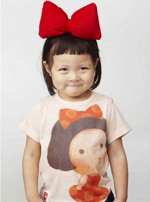 子供服ブランドのモデルとして活動することになったチュ・サランちゃん(写真提供=allo & lugh)
