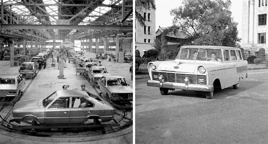 写真】1976年の現代車工場、1957年の国産第1号車=韓国 ...