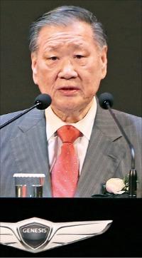 鄭夢九(チョン・モング)現代自動車グループ会長