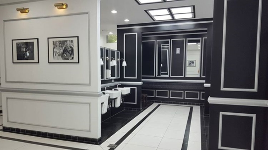 ホテルのような井邑サービスエリアのトイレ。