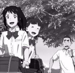 新海誠監督のアニメ映画『君の名は。』。