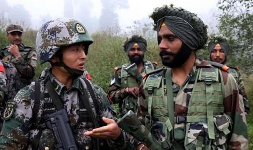 2016年、インドと中国の軍人が対テロ連合演習に参加している。(写真=中央フォト)