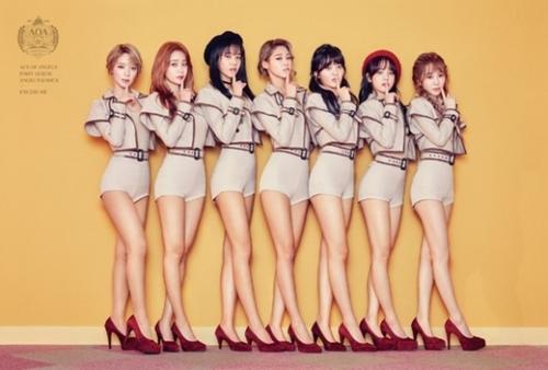 アイドルはダンス・歌などの実力と同じくらい優れたルックスを備えていることが常に求められる。写真はガールズグループのAOA。(写真提供=FNCエンターテインメント)