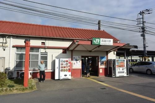 埼玉県日高市高麗川駅