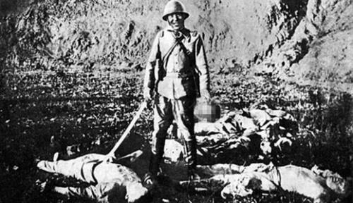 南京大虐殺当時の旧日本軍。(写真=中央フォト)