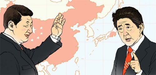 【取材日記】凍りついた韓日関係、中国に密着する日本(イラスト=キム・フェリョン記者)