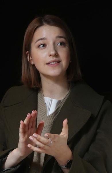 インスタグラムのフォロワー数が60万人にのぼるアンジェリーナ・ダニロヴァさん。