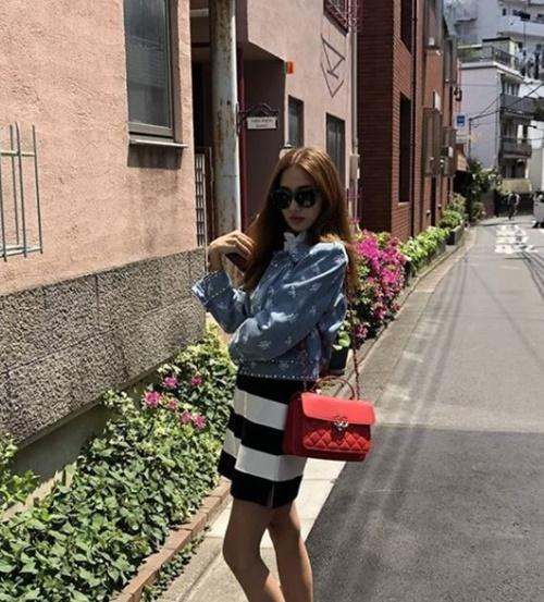 女優ハン・チェヨン(写真=本人のSNS)