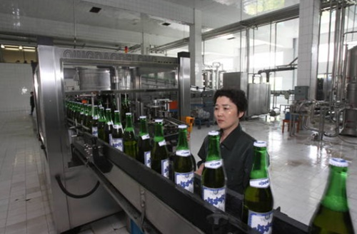 平壌大同江ビール工場