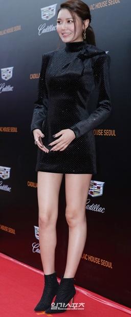 20日午後、ソウル江南区で開かれた「キャディラック・ハウス・ソウル」のオープニングパーティーに登場した元少女時代のスヨン