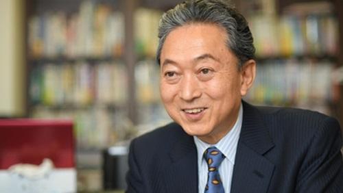 鳩山由紀夫氏(写真提供=釜山大学)
