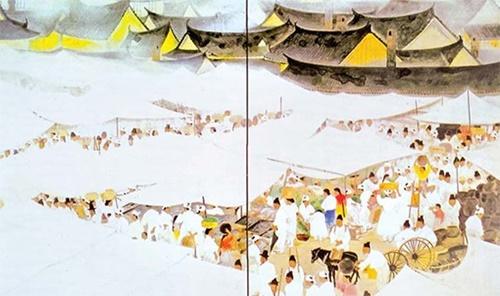 「山口蓬春 市場」の画像検索結果