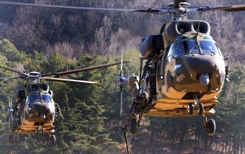 韓国産多目的ヘリコプター「スリオン」