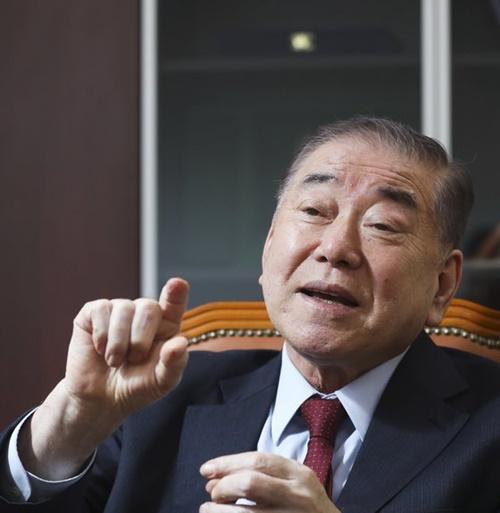 文正仁大統領統一外交安保特別補佐官