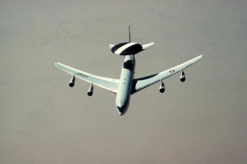 米空軍の早期警戒機E-3「セントリー」(写真提供=米空軍)