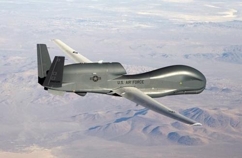 米国の無人偵察機グローバルホーク(写真=米空軍)