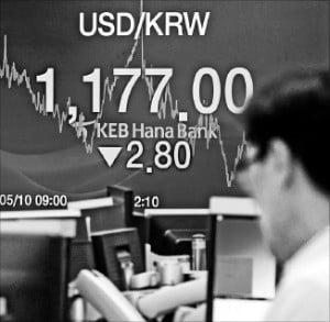 ウォンが連日急落…なぜ韓国だけ際立つのか