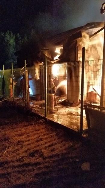 昨年12月22日、江原道三陟市の太陽光発電設備エネルギー貯蔵システム(ESS)で火災が発生した。この火災で18億ウォン(約1億6500万円)の財産被害が発生した。(中央フォト)