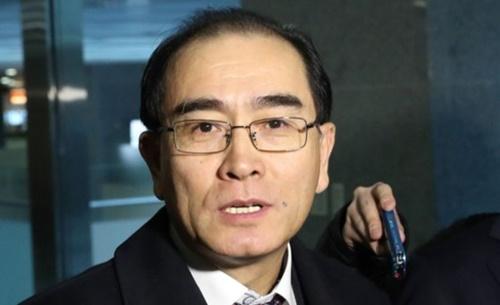 太永浩(テ・ヨンホ)元駐英北朝鮮大使館公使