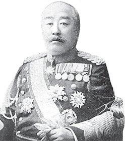 大島義昌少将。[中央フォト]