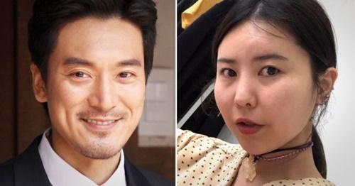 俳優キム・ミンジュン(左)とクォン・タミさん(RARE MARKET代表が10月初めに結婚すると報じられた。[写真 韓国ニッカンスポーツ・クォン・タミさんインスタグラム]