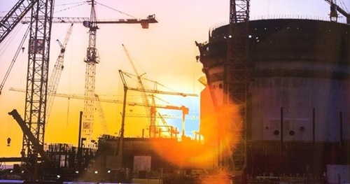 韓国企業コンソーシアム「チームコリア」はアラブ首長国連邦で原発4基を建設している。アブダビ=ムン・ヒチョル記者