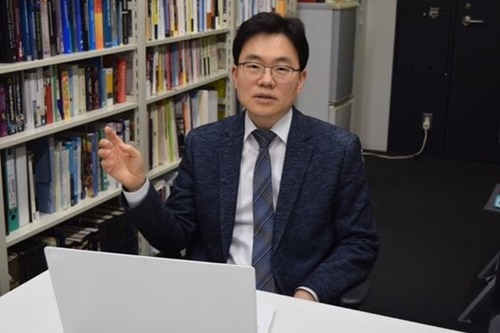 朴相俊(パク・サンジュン)早稲田大国際学術院教授[中央フォト]