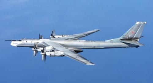 ロシア戦略爆撃機Tu-95