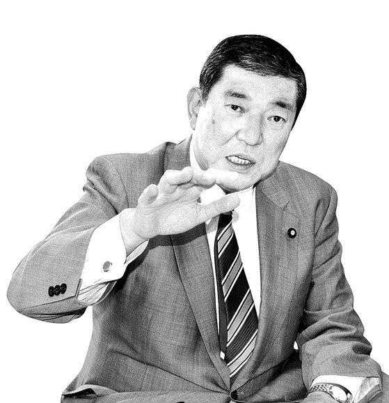 石破茂前自民党幹事長[中央フォト]