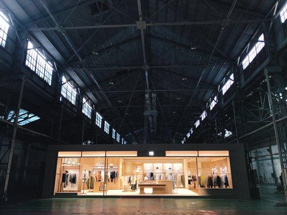 10月15日、仁川・日進電気工場で行われたビーンポールのブランド・リニューアル行事の様子。ユン・ギョンヒ記者