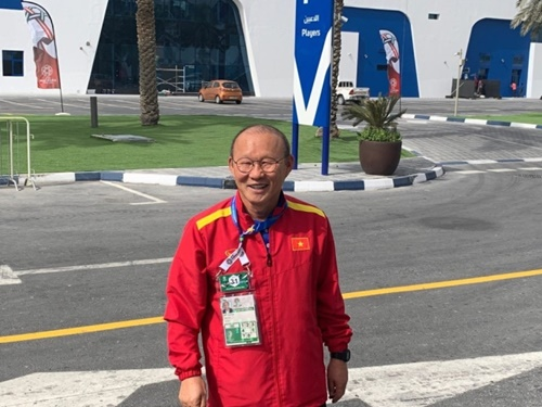 ベトナム代表の朴恒緒(パク・ハンソ)監督