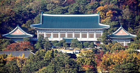 韓国青瓦台(チョンワデ、大統領府)