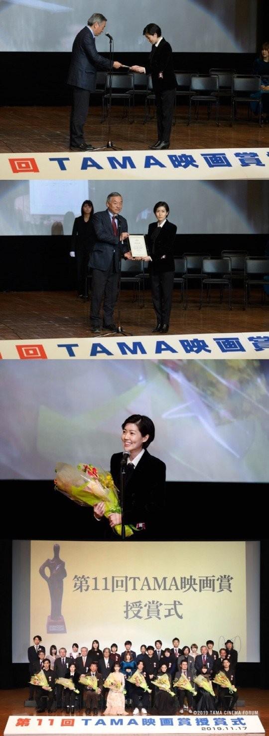 女優シム・ウンギョンが映画『新聞記者』で第29回TAMA映画賞の最優秀新進女優賞を受賞した。[写真 マネジメントAND]