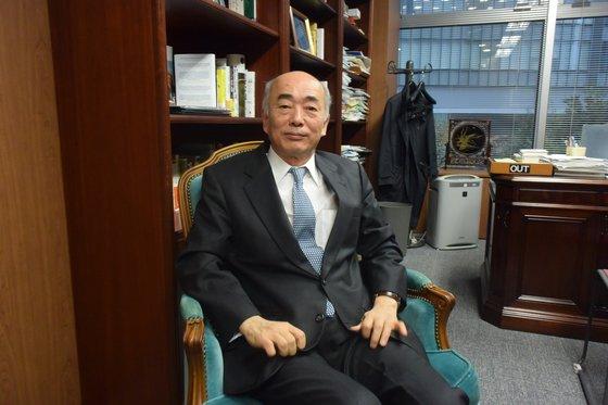 日本国際問題研究所の佐々江賢一郎理事長が先月27日、中央日報とのインタビューに答えている。ユン・ソルヨン特派員