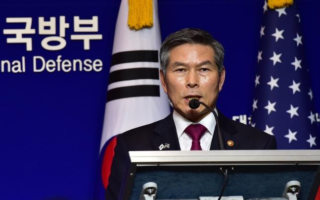 鄭景斗(チョン・ギョンドゥ)国防部長官
