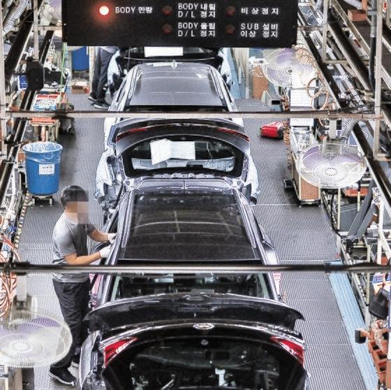 ルノーサムスン自動車釜山(プサン)工場。ソン・ボングン記者