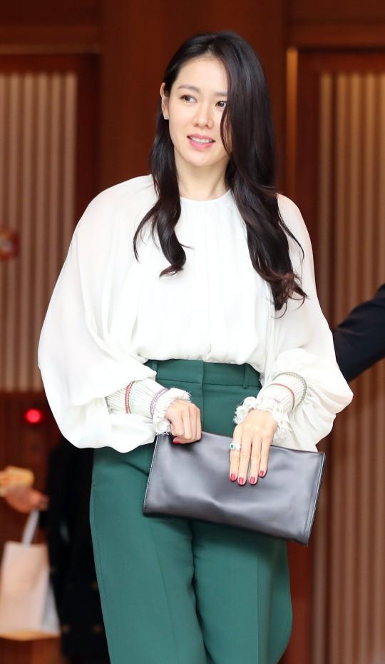 女優ソン・イェジン[中央フォト]
