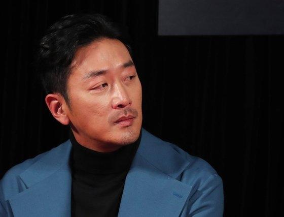 俳優ハ・ジョンウ[写真 韓国ニッカンスポーツ]