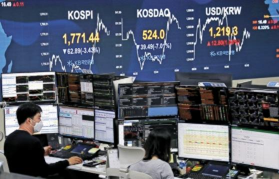 株価 韓国 の