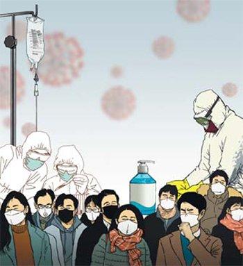 韓国でコロナ感染の医療従事者が初めて死亡…診療中の患者から感染した50代医師