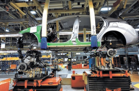 現代車米国アラバマ工場の様子。[写真 現代自動車]