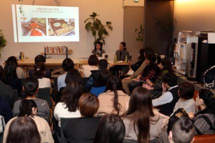 2月に東京で開かれた「勝手に韓国広報課」行事 [写真 成川彩]
