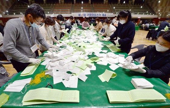 韓国 選挙 2020
